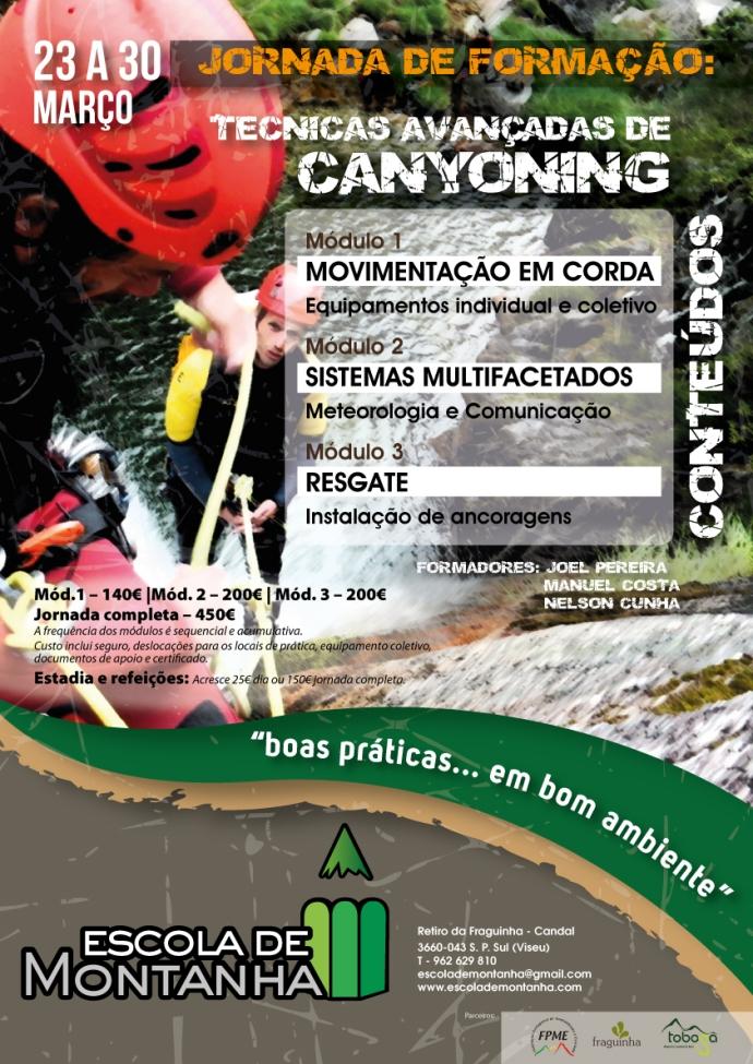 Jornada Técnica de Canyoning